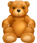 Teddy Bear Icon Version 1